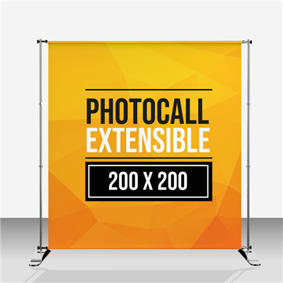 Photocall Extensible 200 x 200 cm