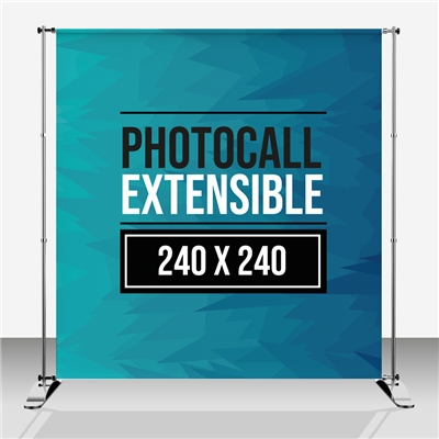 Photocall Extensible 240 x 240 cm